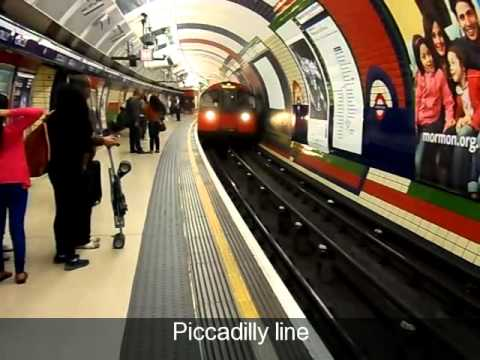 James's big adventure on the London Underground