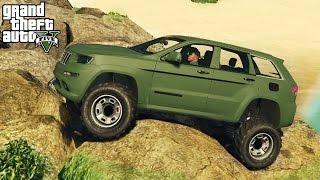 getlinkyoutube.com-★ GTA 5 - EPIC Jeep Grand Cherokee Mod! 4x4 Off-Roading & Mudding Mod Showcase! (GTA V PC Mods)
