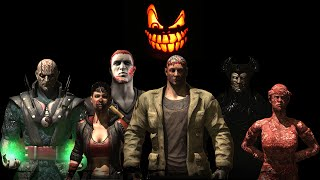 getlinkyoutube.com-Mortal Kombat X - Halloween Pack 2 Costumes / Skins *PC Mod* (1080p 60FPS)