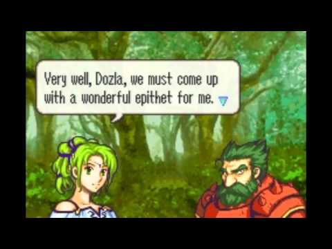 Fire Emblem: The Sacred Stones - L'Arachel & Dozla Support