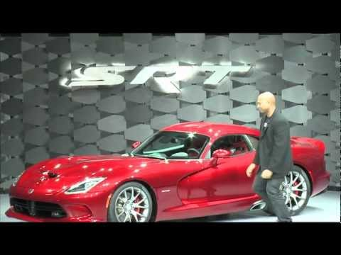 2013 SRT Viper Reveal Highlights