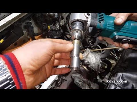 Шлифовка торца клапана без демонтажа ГБУ на Citroen Berlingo 1.6d