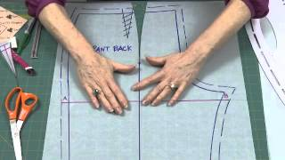 getlinkyoutube.com-How to Make a Fish Eye Dart in Pants Back with Sure-Fit Designs