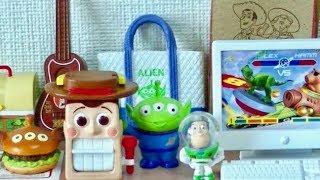 getlinkyoutube.com-RE-MENT TOY STORY Happy Toy Room Disney Pixar