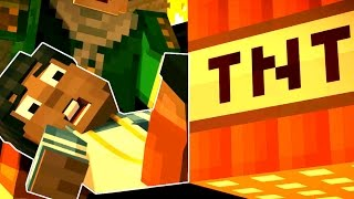 getlinkyoutube.com-Minecraft: STORY MODE - BOOM TOWN OF GRIEFING! [5]