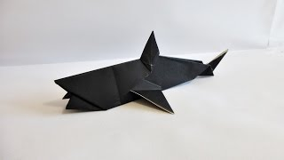 getlinkyoutube.com-Easy Origami Shark 折り紙 折り方 サメ