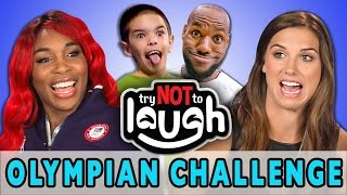 Try to Watch This Without Laughing or Grinning (ft. Olympians) width=