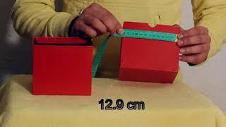 تعلم العاب الخفة # 644 (  من من العلبتين الاكبر ؟   )  magic trick revealed width=