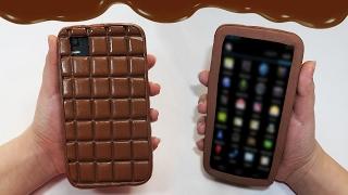 getlinkyoutube.com-🍫 Tutorial: Funda DIY para el Móvil/Tablet/ipod de Chocolate 🍫