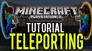 getlinkyoutube.com-Minecraft Playstation - How To Teleport (Tutorial) - Update 1.04 (TU14) PS3, PS4, PSVita