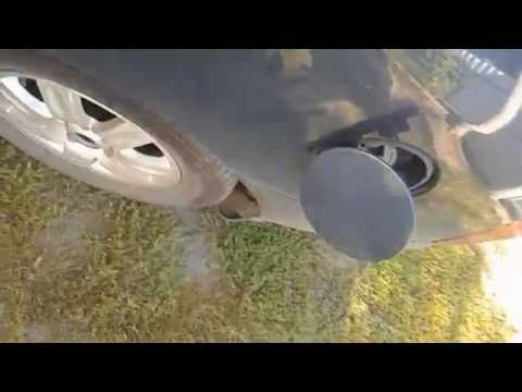 Kia Carens,Киа Каренс,ремонт кнопки открытия лючка горловины бензобака