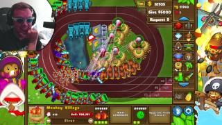 getlinkyoutube.com-SPILLE MED DYKKEBRILLER! | Bloons TD5 | Norsk gaming
