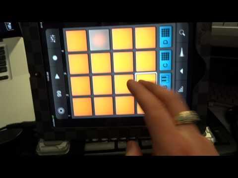 JamesDeeTV - Apple iPad 2 + iMaschine App - Beat Making Tutorial 2012