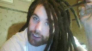 getlinkyoutube.com-Dreadlock Extensions at week 9