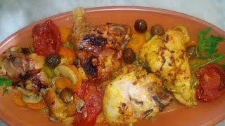 طاجين الزيتون بطريقة رائعة ولذيذة لرمضان الكريم بالتعاون مع قناة ست الحبايب Tajin aux olives au four