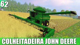 Farming Simulator 2015 - Colheitadeira John Deere  PT-BR