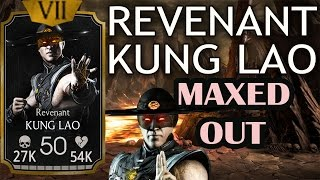 getlinkyoutube.com-Revenant Kung Lao MAXED OUT. Great asset to any NetherRealm team.