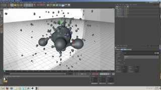 getlinkyoutube.com-Using Displacer With Meta Balls | Cinema 4D Animation Tutorial