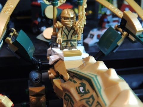 Lego Ninjago The Golden Dragon 70503 Review