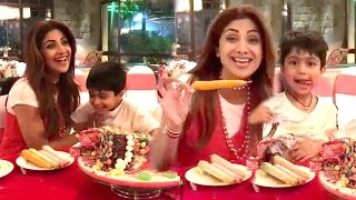 Shilpa Shetty & Raj Kundra's CUTE Son Viaan's BIRTHDAY Party 2017 Full Video HD