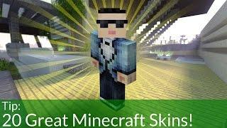 getlinkyoutube.com-20 Great Minecraft Skins! [Download]