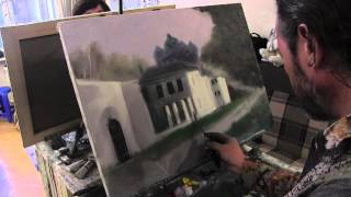 getlinkyoutube.com-Научиться рисовать архитектуру, Сахаров, уроки живописи для начинающих
