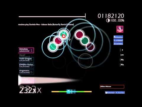 Daniele Meo - Adesso Balla (Butterfly Remix) [Insane] [+DT] (Osu!)