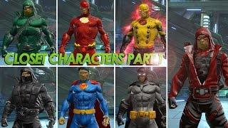 getlinkyoutube.com-[DCUO]  Closet characters part 1 / Arrow,Flash,Reverse flash,Arsenal,Batman,Superman,Al Sah-him