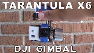 getlinkyoutube.com-Gimbal DJI PTZ Brushless para Drone YiZhan Tarántula X6 & Cheerson Cx20   Review en Español