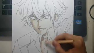 getlinkyoutube.com-Speed Drawing - Sakamaki Ayato (Diabolik Lovers)
