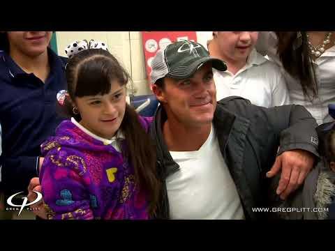 Greg Plitt - Inspirational Texas Middle School Visit - Video Blog Preview - GregPlitt.com