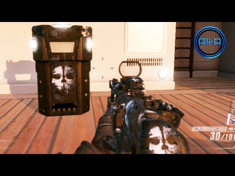 Call of Duty: GHOSTS - Camo Gameplay! Black Ops 2