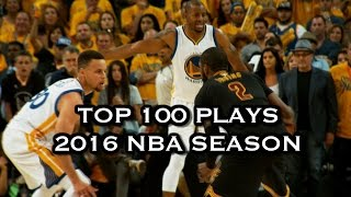 getlinkyoutube.com-Top 100 Plays: 2016 NBA Season