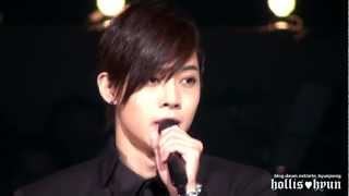 [Memories] Stars in the eyes of Kim Hyun Joong - Let Me Be The One