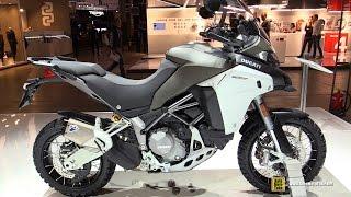 getlinkyoutube.com-2016 Ducati 1200 Multistrada Enduro - Walkaround - Debut at 2015 EICMA Milan