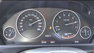 getlinkyoutube.com-2016 BMW 330i F30 252 HP 0-200 km/h Acceleration