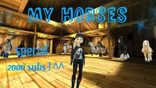 getlinkyoutube.com-Special za 2000 odběratelů-My horses in SSO