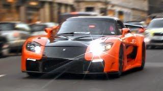getlinkyoutube.com-Mazda RX-7 Veilside Fortune in London!