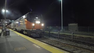 getlinkyoutube.com-Amtrak Heritage & Other Trains in Framingham