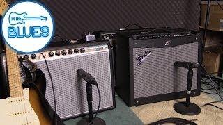 getlinkyoutube.com-Blind Test - Fender '68 Custom Deluxe vs Fender Mustang III