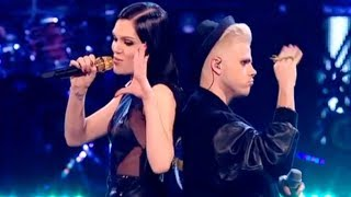 Jessie J and Vince duet 'Nobody's Perfect' - The Voice UK - Live Final - BBC One width=