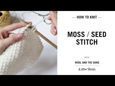 Moss / Seed Stitch
