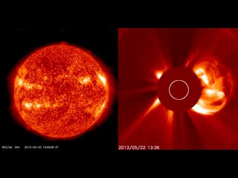SOLAR ACTIVITY UPDATE: Powerful M5.0-Flare/Proton/CME (May 22nd, 2013).