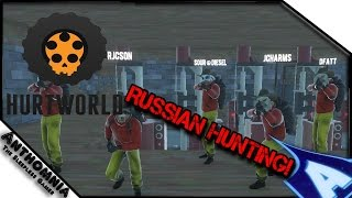 getlinkyoutube.com-RUSSIAN HUNTING! | Hurtworld Counter Raiding | Base Destruction | PVP | Gameplay EP 14