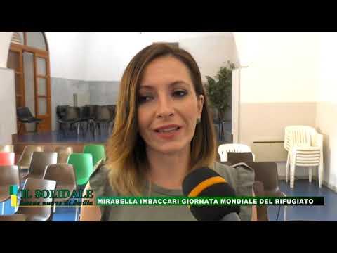 Video: Mirabella Imbaccari - Giornata Mondiale del rifugiato 2018