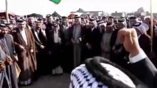 قبيله البدير في عزاء الشيخ مانع الفارس