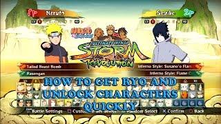 getlinkyoutube.com-Fastest Way to Unlock All Characters Naruto Shippuden Ultimate Ninja Storm Revolution