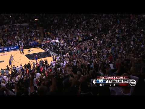 Manu Ginobili Hits 2OT Game-Winner In Game 1 Vs. Warriors