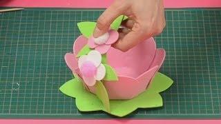 getlinkyoutube.com-Come realizzare un cestino per la festa della mamma