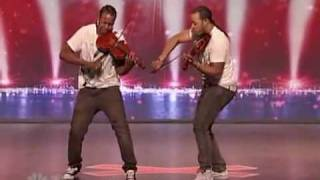 getlinkyoutube.com-America got talent - Nuttin but stringz - Amazing violin